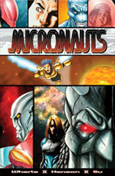 Image: Micronauts Vol. 1: Revolution SC  - Devils Due Publishing