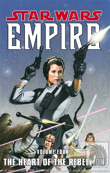Image: Star Wars: Empire Vol. 04 - The Heart of the Rebellion SC  - Dark Horse Comics