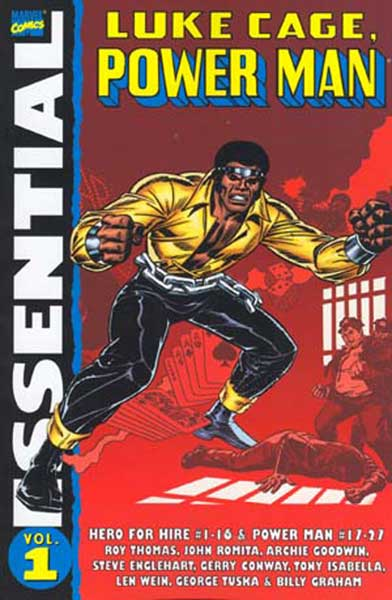 Image: Essential Luke Cage, Power Man Vol. 01 SC  - Marvel Comics