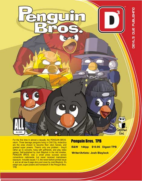 Image: Penguin Bros. Vol. 01 SC  - Devils Due Publishing
