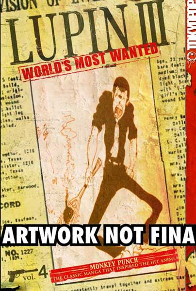 Image: Lupin III: World's Most Wanted Vol. 4 SC  - Tokyopop