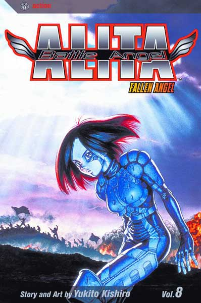 Image: Battle Angel Alita Vol. 08 SC  - Viz Media LLC