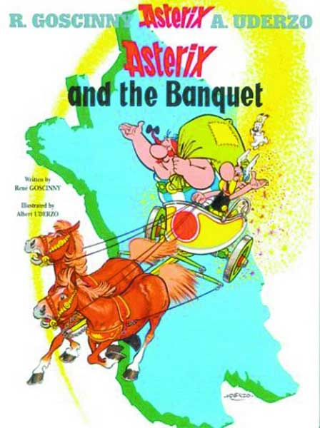 Image: Asterix Vol. 05: Asterix and the Banquet SC  - Sterling Publishing