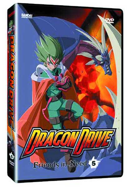 Image: Dragon Drive Vol. 5: Friends in Need DVD  -