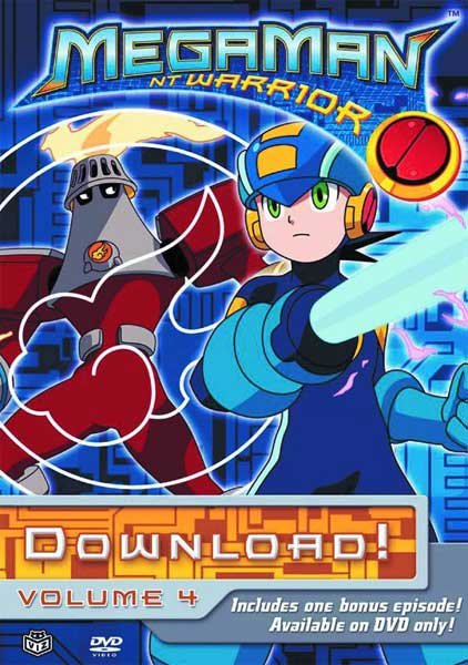 Image: Megaman NT Warrior Vol. 4: Download DVD  -