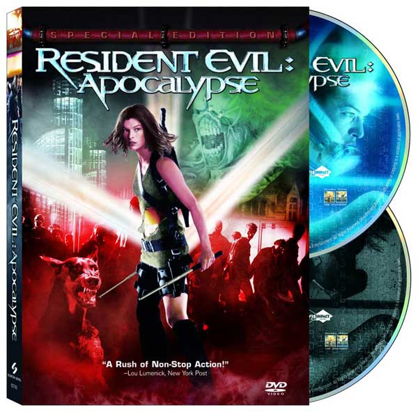 Image: Resident Evil Apocalypse Special Edition DVD  -