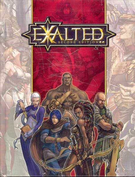 Image: Exalted RPG 2nd ed.  -