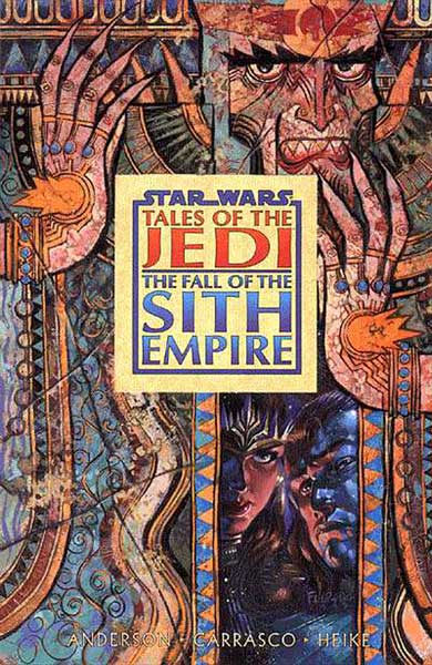 Image: Star Wars: Tales of the Jedi - Fall of the Sith Empire SC  - Dark Horse Comics