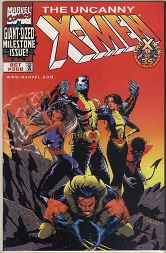 Image: Uncanny X-Men #360 (DFE alt. cover) - Marvel Comics