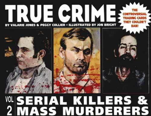 Image: True Crime Trading Cards 2: Serial Killers and Mass Murderers  - Eclipse Comics