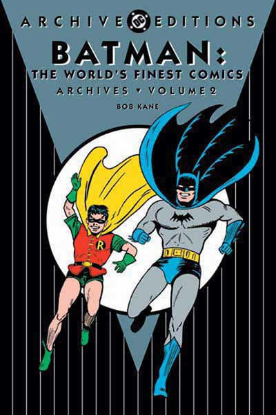 Image: Batman in World's Finest Archives Vol. 02 HC  - DC Comics