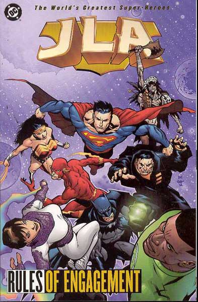 Image: JLA Vol. 13: Rules of Engagement SC  - DC Comics