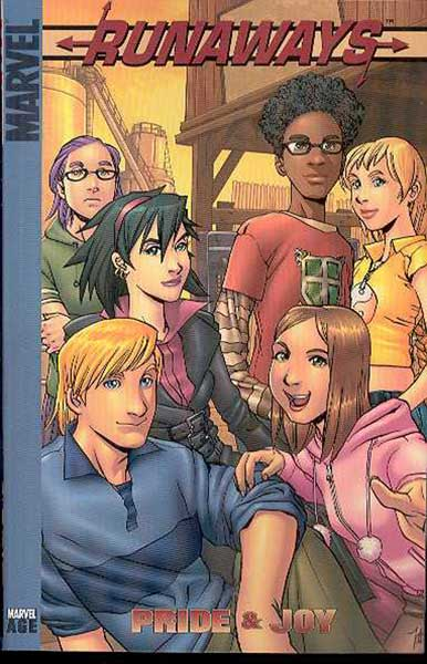 Image: Runaways Vol. 01: Pride and Joy  (digest) - Marvel Comics