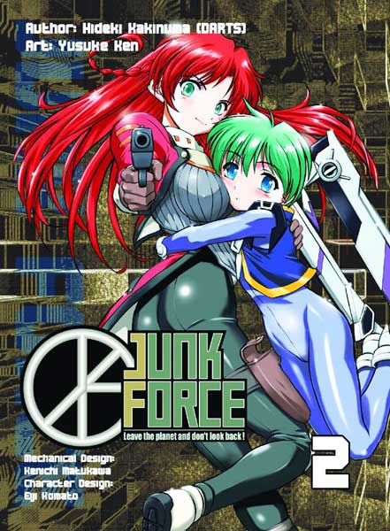 Image: Junk Force Vol. 02 SC  - DR Master Publications Inc