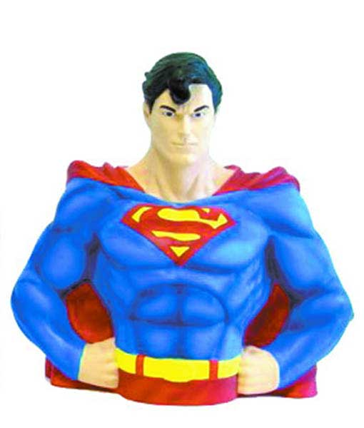 Image: DC Heroes Bank: Superman Bust  -