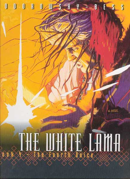 Image: White Lama Vol. 04: Fourth Voice HC  - DC Comics