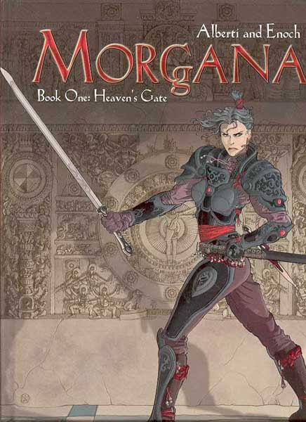 Image: Morgana Book 1: Heavens Gate HC  - DC Comics