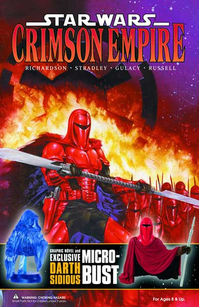 Image: Star Wars: Crimson Empire Book & Bust-Up Figure Set  - Dark Horse Comics