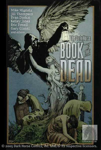 Image: Dark Horse Book of the Dead HC  - Dark Horse Comics