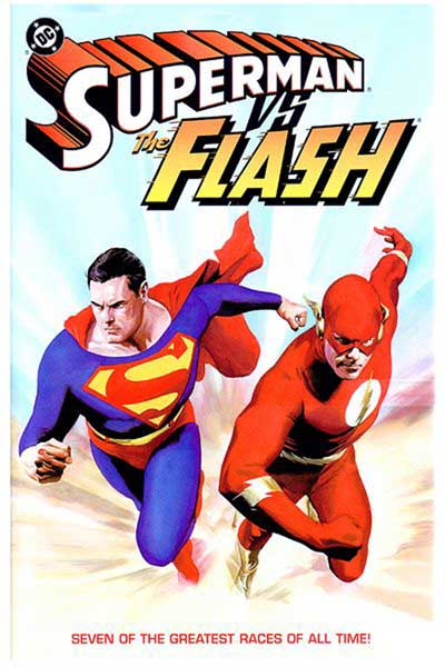 Image: Superman vs. the Flash SC  - DC Comics