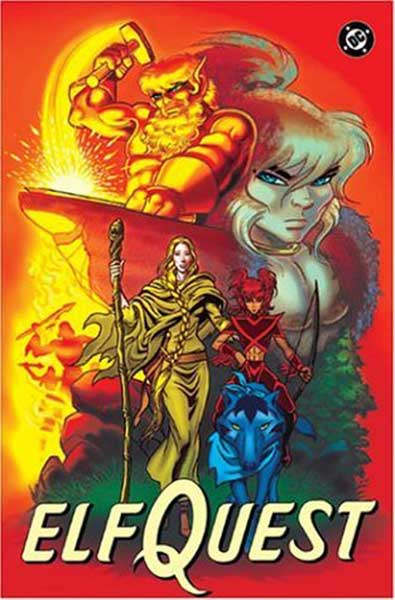 Image: Elfquest: Searcher and the Sword SC  - DC Comics