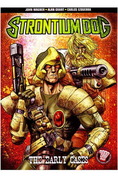 Image: Strontium Dog: The Early Cases SC  - DC Comics