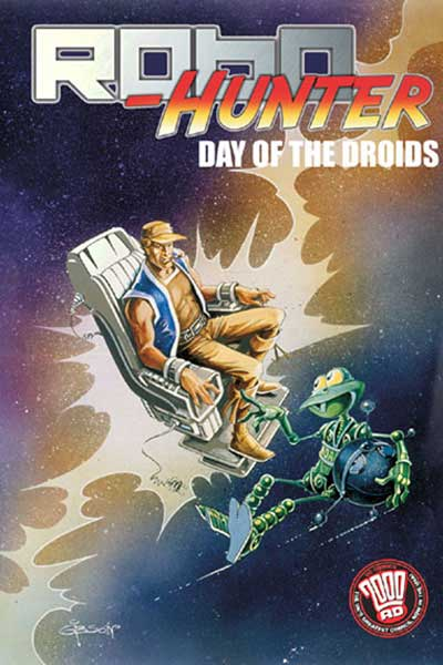 Image: Robo-Hunter: Day of the Droids SC  - DC Comics