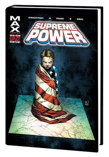 Image: Supreme Power Vol. 01 HC  - Marvel Comics
