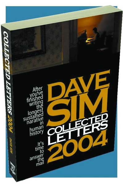 Image: Dave Sim Collected Letters 2004 SC  - Aardvark Vanaheim