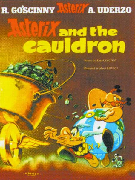 Image: Asterix #13: Asterix and the Cauldron SC  - Sterling Publishing