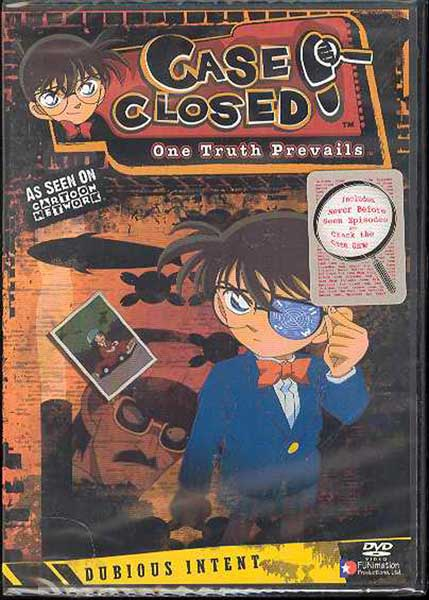 Image: Case Closed Case 4 Vol. 5: Dubious Intent DVD - Uncut  -