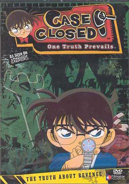 Image: Case Closed Case 5 Vol. 1: Truth About Revenge DVD - Uncut  -