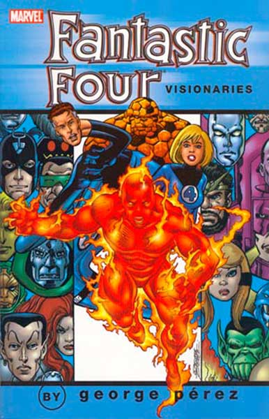 Image: Fantastic Four Visionaries: George Perez Vol. 02 SC  - Marvel Comics