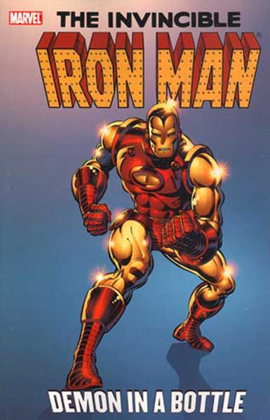 Image: Iron Man: Demon in a Bottle SC  - Marvel Comics