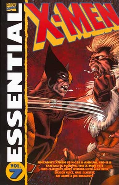 Image: Essential X-Men Vol. 07 SC  - Marvel Comics