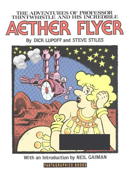 Image: Adventures of Professor Thintwhistle and His Incredible Aether Flyer SC  - Fantagraphics Books