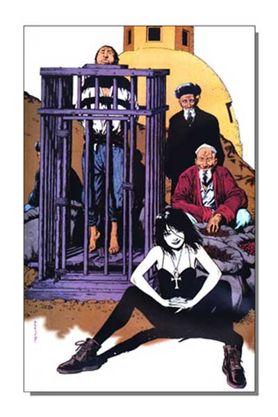 Image: Death Gallery Poster  - DC Comics