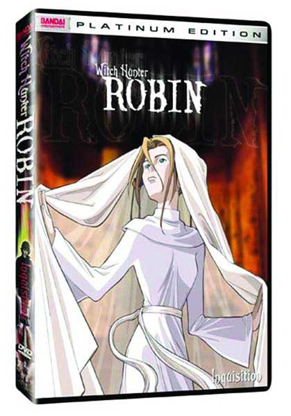 Image: Witch Hunter Robin Vol. 3: Inquisition DVD  -