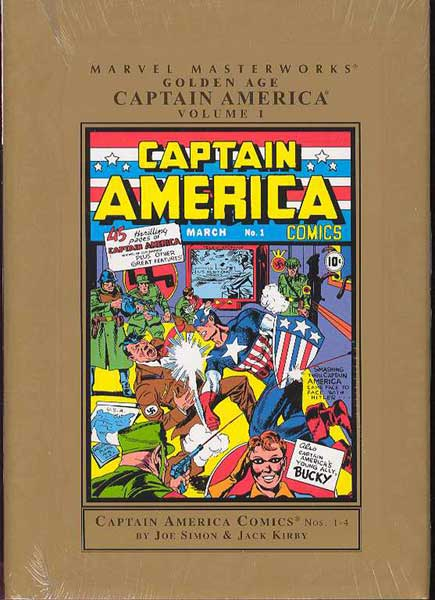 Image: Marvel Masterworks: Golden Age Captain America Vol. 01 HC  - Marvel Comics