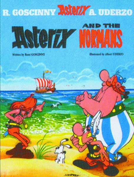 Image: Asterix Vol. 09: Asterix and the Normans SC  - Sterling Publishing