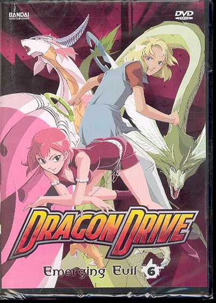 Image: Dragon Drive Vol. 6: Emerging Evil DVD  -