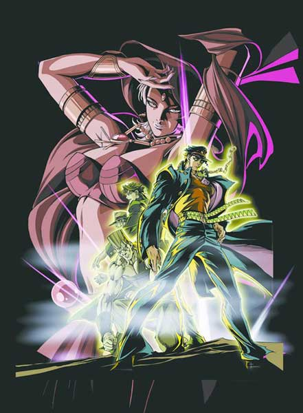 Image: Jo Jo's Bizarre Adventure Vol. 03 DVD  -