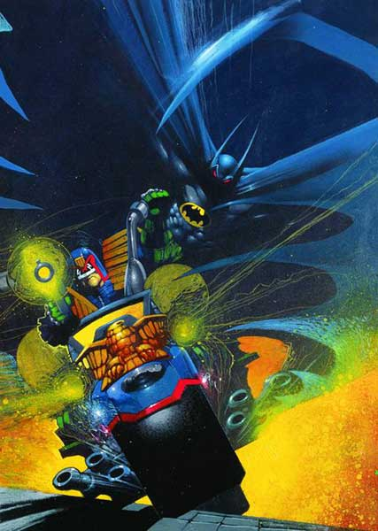 Image: Batman / Judge Dredd Files SC  - DC Comics