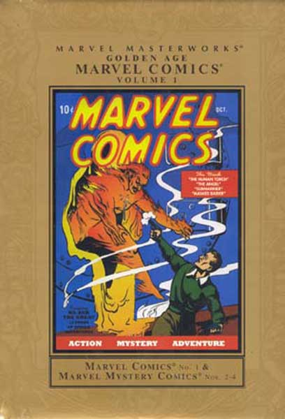 Image: Marvel Masterworks: Golden Age Marvel Comics Vol. 01 HC  - Marvel Comics