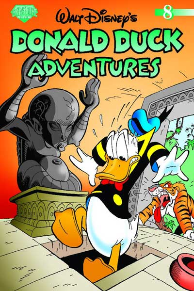 Image: Donald Duck Adventures Vol. 08 SC  - Gemstone Publishing