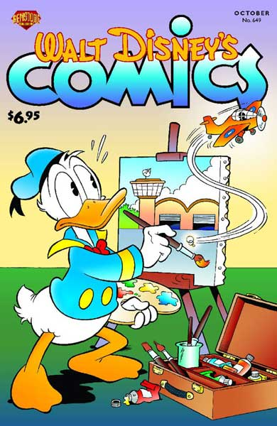 Image: Walt Disney's Comics & Stories #649 - Gemstone Publishing