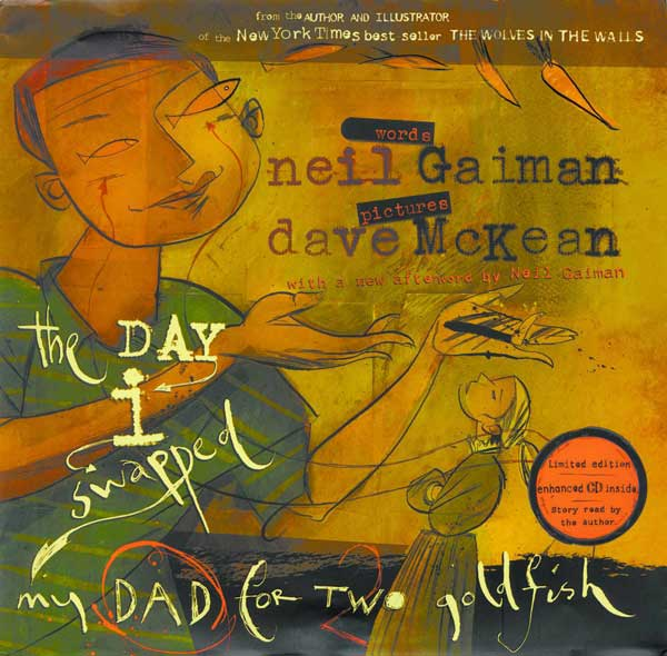 Image: Day I Swapped My Dad for Two Goldfish - New Edition HC  -
