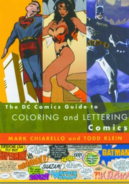 Image: DC Guide to Coloring & Lettering Comics SC  -