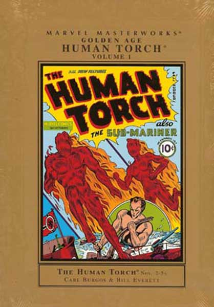 Image: Marvel Masterworks: Golden Age Human Torch Vol. 01 HC  - Marvel Comics