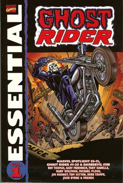 Image: Essential Ghost Rider Vol. 01 SC  - Marvel Comics